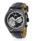 Iconic black leather watch Sale - jost burgi Sale