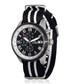 Legende silver-tone & black nylon watch Sale - jost burgi Sale