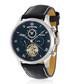 La Metropole silver-tone & black watch Sale - jost burgi Sale