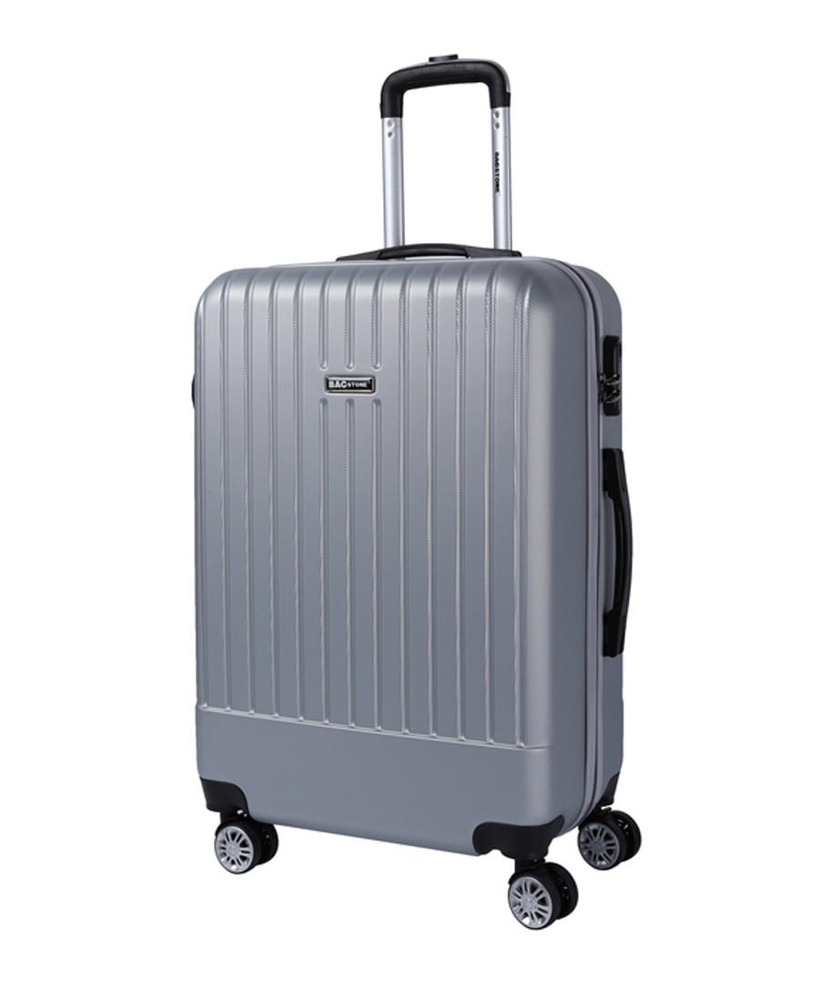 Spirit silver-tone suitcase 56cm Sale - bagstone