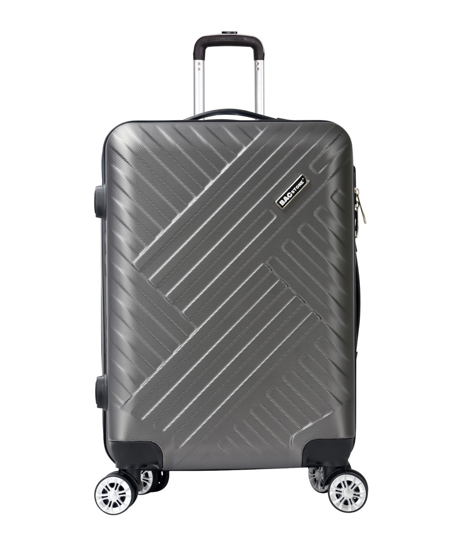 Next grey spinner suitcase 57cm Sale - bagstone