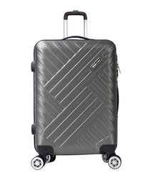 Next grey suitcase 57cm