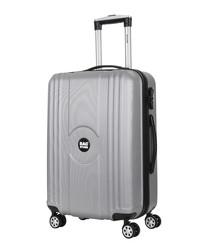 Jack silver-tone suitcase 55cm