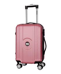 Jack pink cabin suitcase 55cm