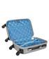 America silver-tone spinner suitcase 45cm Sale - bagstone Sale