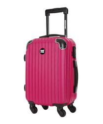 America fuchsia cabin suitcase 55cm