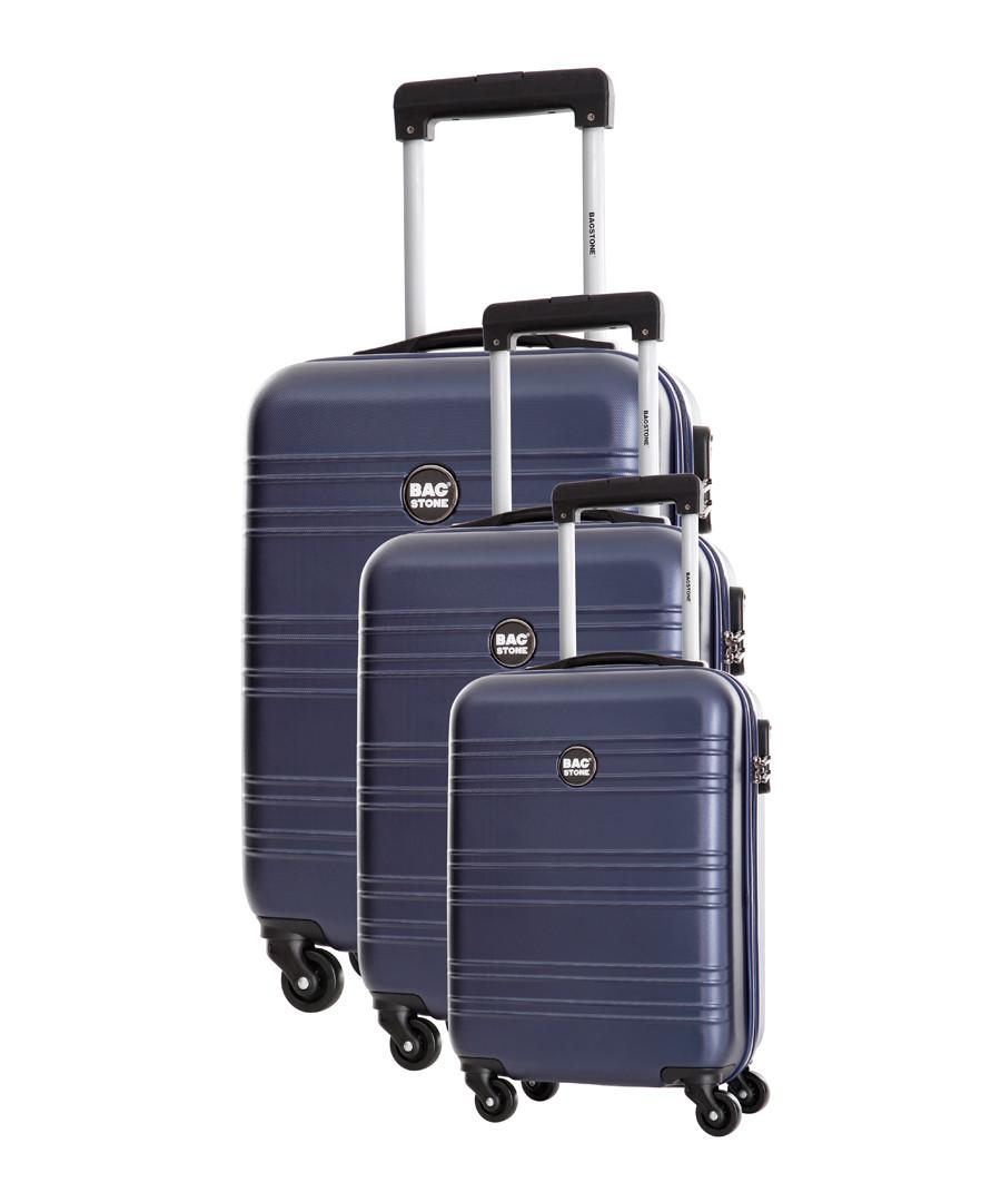 3pc Summer marine suitcase set Sale - bagstone