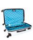 Mystic white spinner suitcase 70cm Sale - bagstone Sale