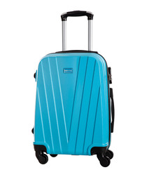 Mystic blue spinner suitcase 50cm