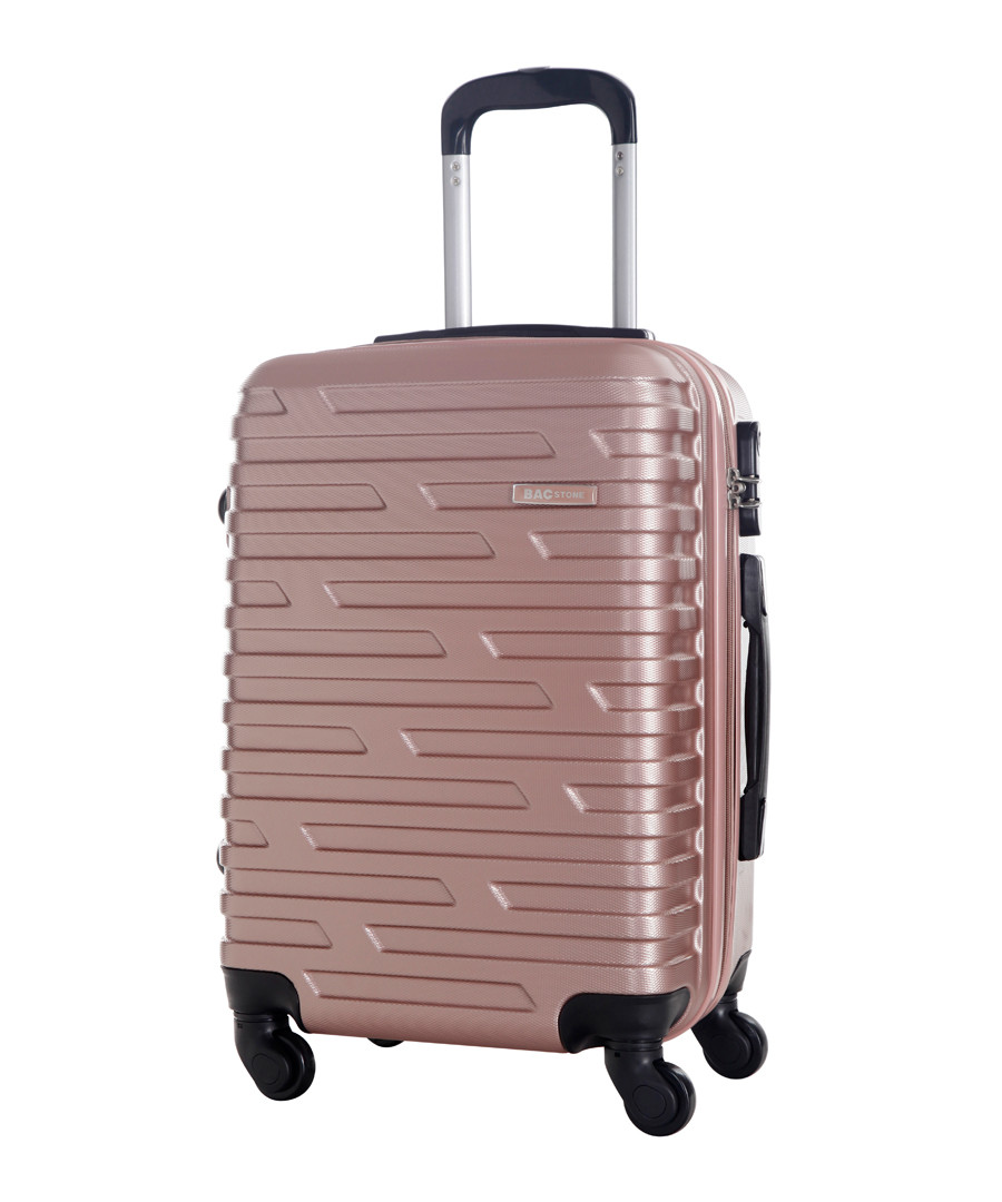 Twister gold-tone spinner suitcase 60cm Sale - bagstone