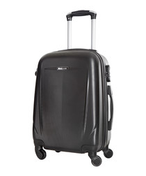 Holiday black suitcase 60cm