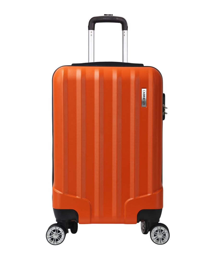 Lake orange spinner suitcase 52cm Sale - cabine size