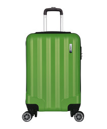 Lake green spinner suitcase 52cm