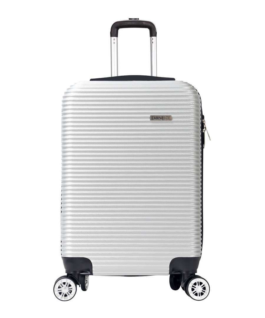 Levin silver-tone spinner suitcase 52cm Sale - cabine size