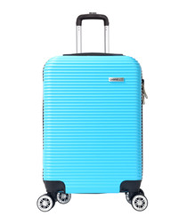 Levin turquoise spinner suitcase 52cm