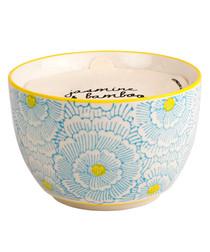 Boheme jasmine & bamboo candle 12.5oz