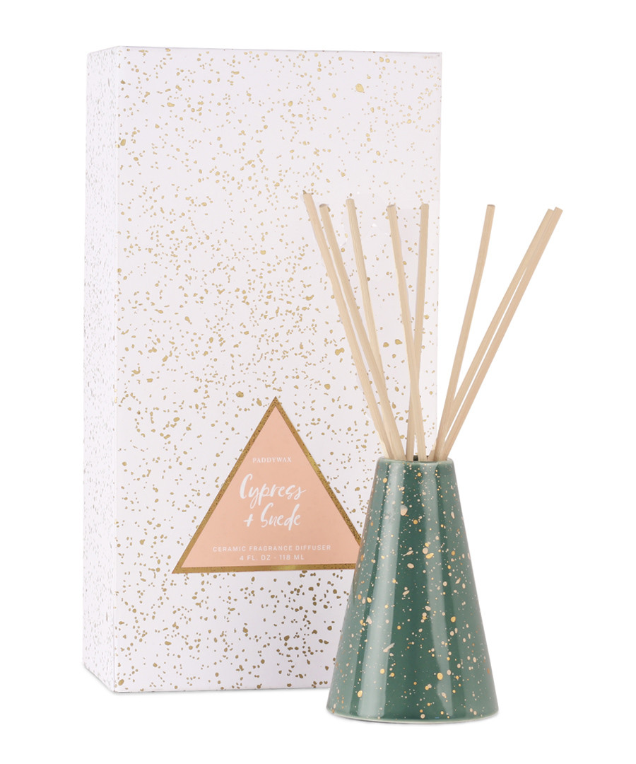 Confetti cypresse suede diffuser  114ml Sale - paddywax