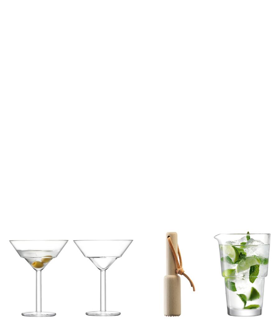 4pc Mixologist cocktail set Sale - lsa