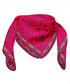 Cachemira red print square scarf Sale - alber zoran Sale