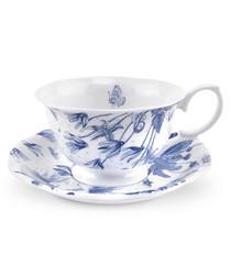 Portmeirion botanic blue cup & saucer