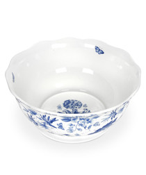 Portmeirion botanic blue salad bowl