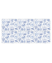 6pc Portmeirion botanic blue placemats