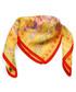 Anvik golden print square scarf Sale - alber zoran Sale