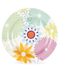 4pc Portmeirion crazy daisy tea plates
