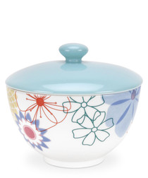 Portmeirion crazy daisy sugar pot