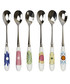 6pc Portmeirion crazy daisy teaspoon set Sale - crazy daisy Sale