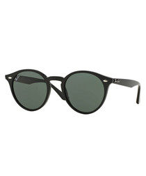Black & grey green lens sunglasses