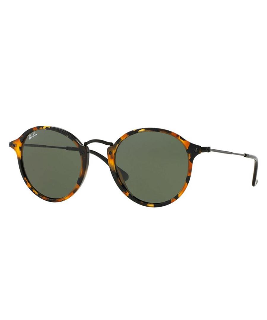 Havana & green metal sunglasses Sale - Ray Ban