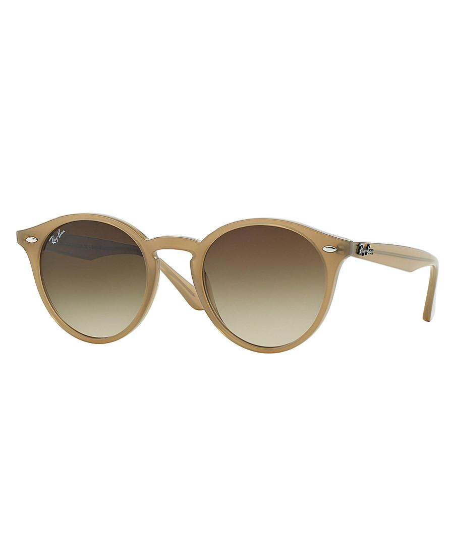 Brown graduated circular sunglasses Sale - ray-ban