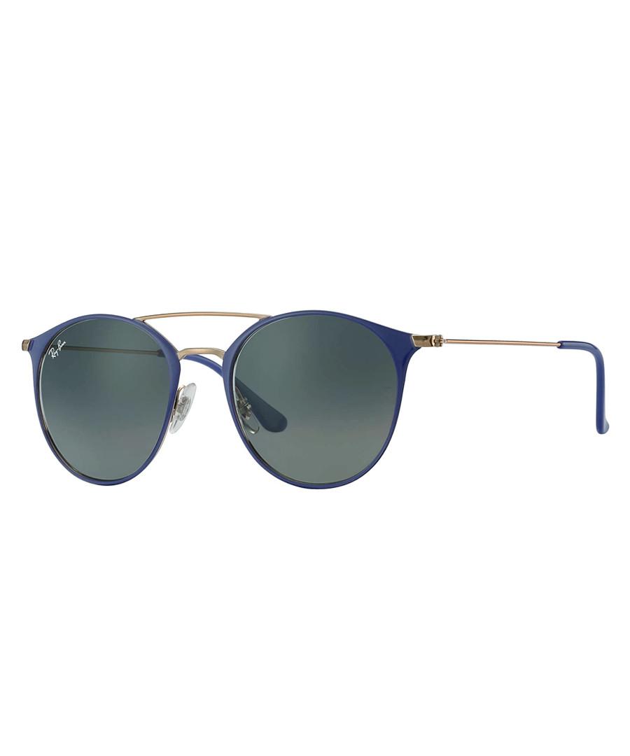 Copper-tone & grey gradient sunglasses Sale - Ray Ban