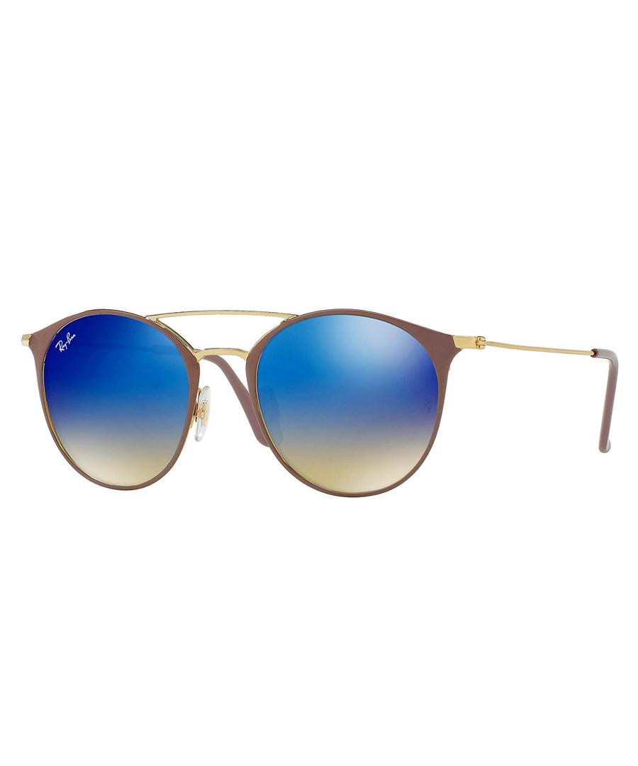 Light brown & blue gradient sunglasses Sale - ray-ban