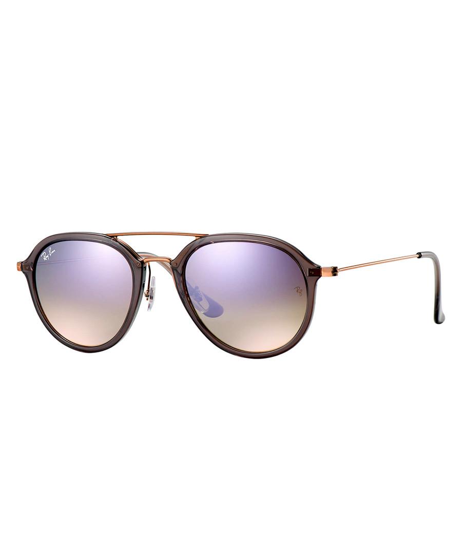 bronze-tone lilac gradient sunglasses Sale - ray-ban