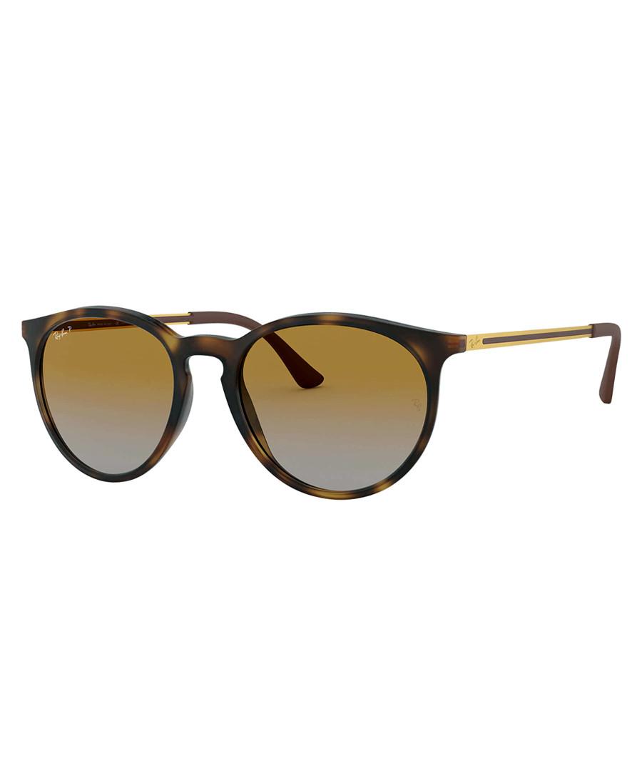 Tortoise polarised gradient sunglasses Sale - ray-ban