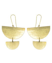 24k Gold-plated earrings