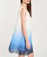White & blue dip-dye dress Sale - dioxide Sale