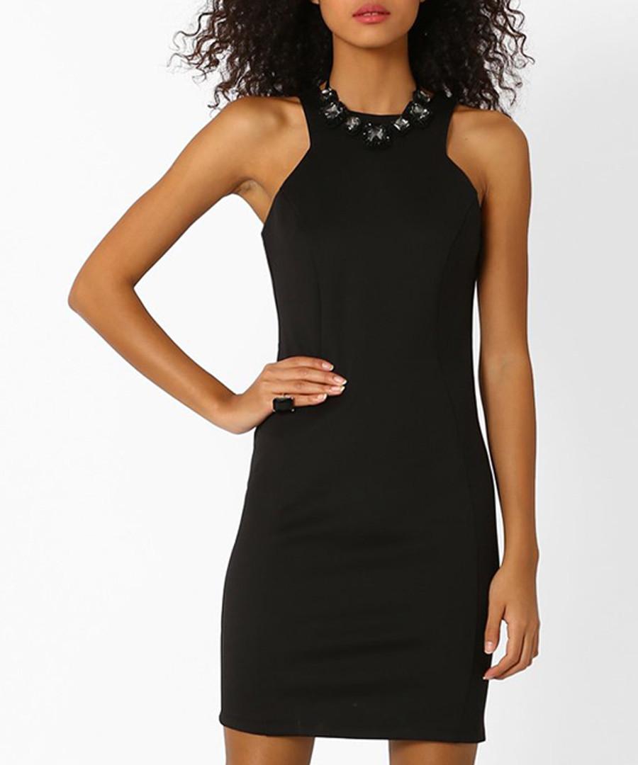 Black sleeveless dress Sale - zibi london
