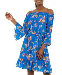 Multi-colour print dresses
