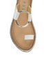 Franklin white leather flat sandals Sale - ravel Sale