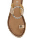 Franklin rose-tone leather flat sandals Sale - ravel Sale