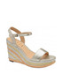 Dixie metallic wedge open-toe sandals Sale - ravel Sale
