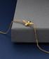 Bee 14k yellow gold-plated bracelet Sale - diamond style Sale