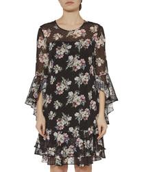 Layton floral print chiffon dress