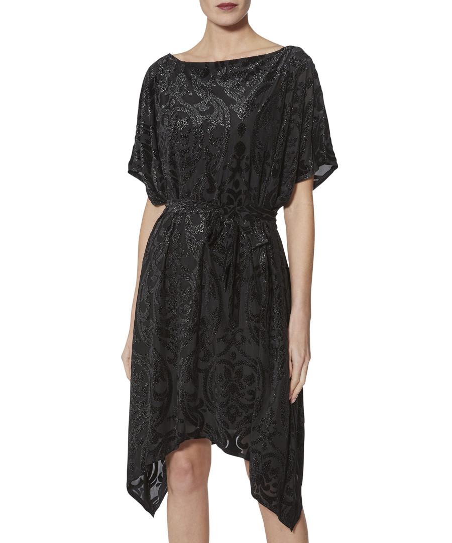 Oleta black cinched waist dress Sale - gina bacconi