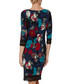 Kiri navy printed jersey dress Sale - gina bacconi Sale