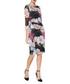 Remi floral print 3/4 sleeve dress Sale - gina bacconi Sale