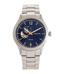 Antoine silver-tone steel watch